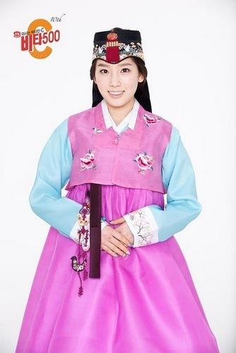 Taeyeon Vita500 Hanbok
