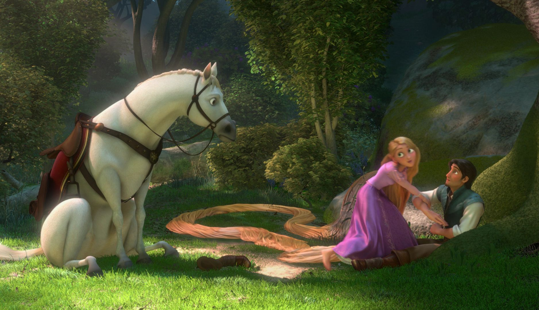 disney tangled film analysis Unraveling tangled disney's tangled delivers some of the best 3d character animation  at times we see the film from rapunzel's viewpoint.