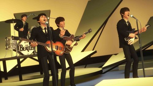 The Beatles wallpaper containing a concert called The Beatles On The Game