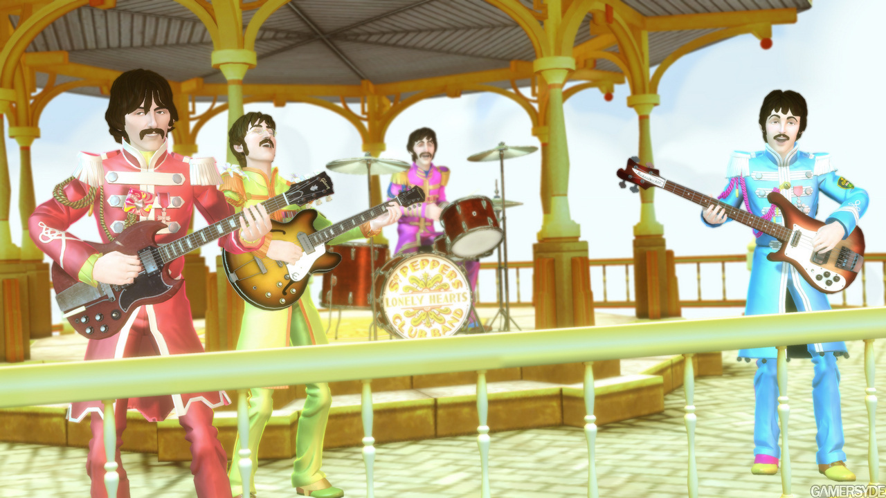 The Beatles Images The Beatles On The Game Hd Wallpaper And