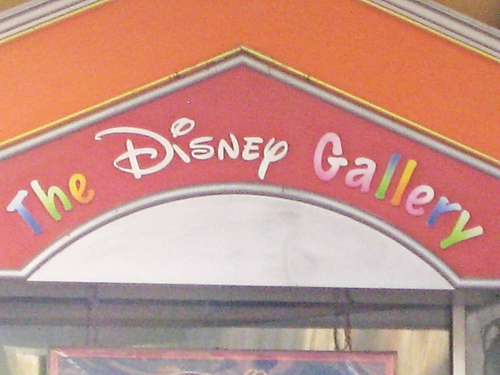 The Disney Gallery @ Disneyland Resort, Paris
