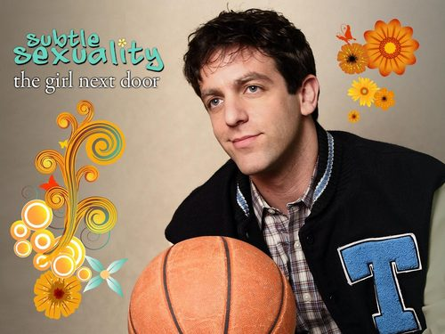 the office wallpaper with a basketball, a dribbler, and a basquetebol, basquete player entitled The Girl seguinte Door