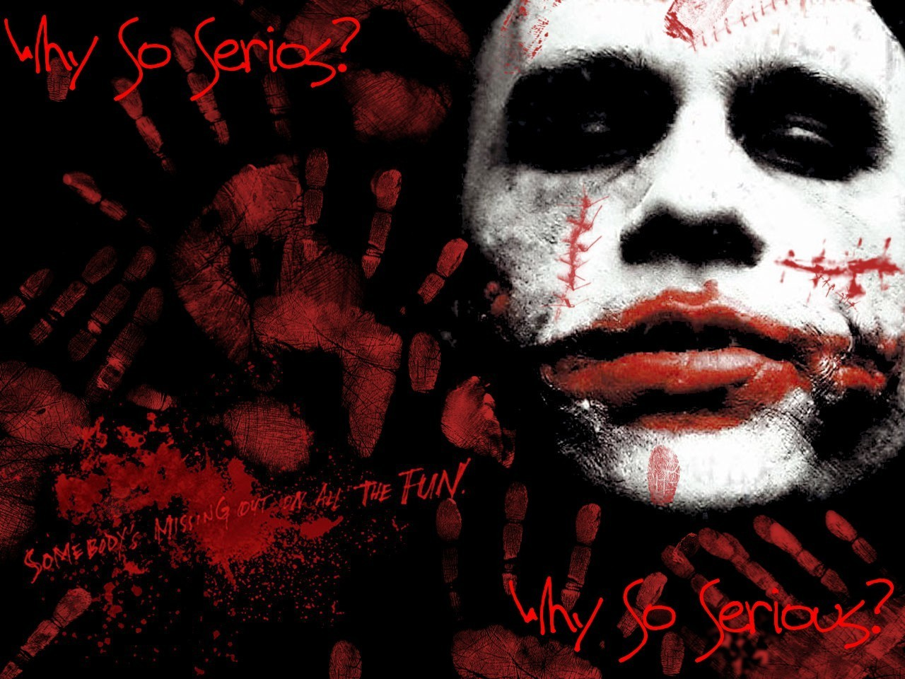 The Joker - Scary Clowns Wallpaper (21767111) - Fanpop fanclubs