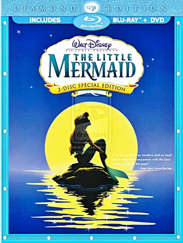 The Little Mermaid - Blu-Ray Cover (Fanmade)