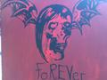The Rev Bat Canvas - avenged-sevenfold fan art