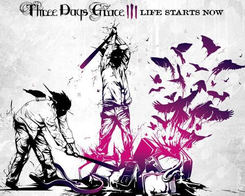 Three Days Grace wallpaper with anime titled Three Days Grace