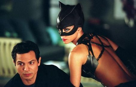 Tom Lone and Catwoman