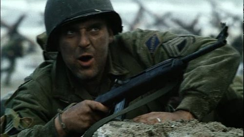 Tom in Saving Private Ryan - tom-sizemore Screencap