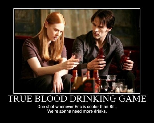True Blood Drinking Game
