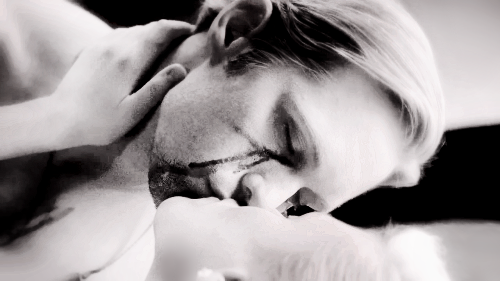 true blood eric and sookie kiss. Eric and Sookie Kiss