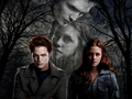 Twilight Edward &amp; Bella - twilight-movie wallpaper