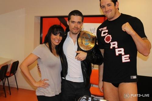 Wade Barrett and Layla