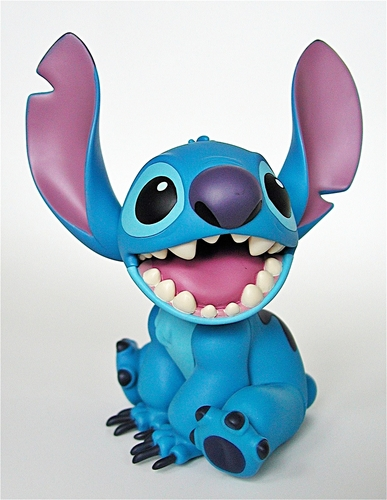 Walt Disney Characters karatasi la kupamba ukuta called Walt Disney Figurines - Stitch Figure