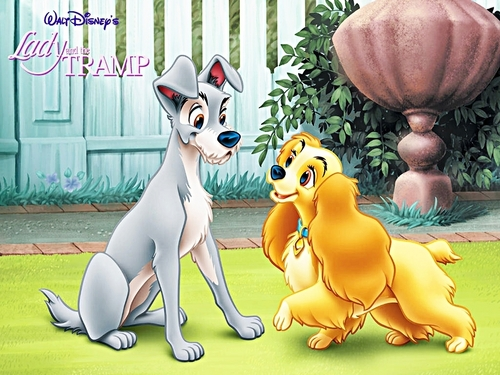 Walt Disney mga wolpeyper - Lady and the Tramp