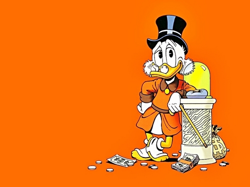 Walt Disney Wallpapers - Uncle Scrooge - walt-disney-characters Wallpaper