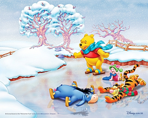 Walt Disney wallpaper - Winnie the Pooh and Friends