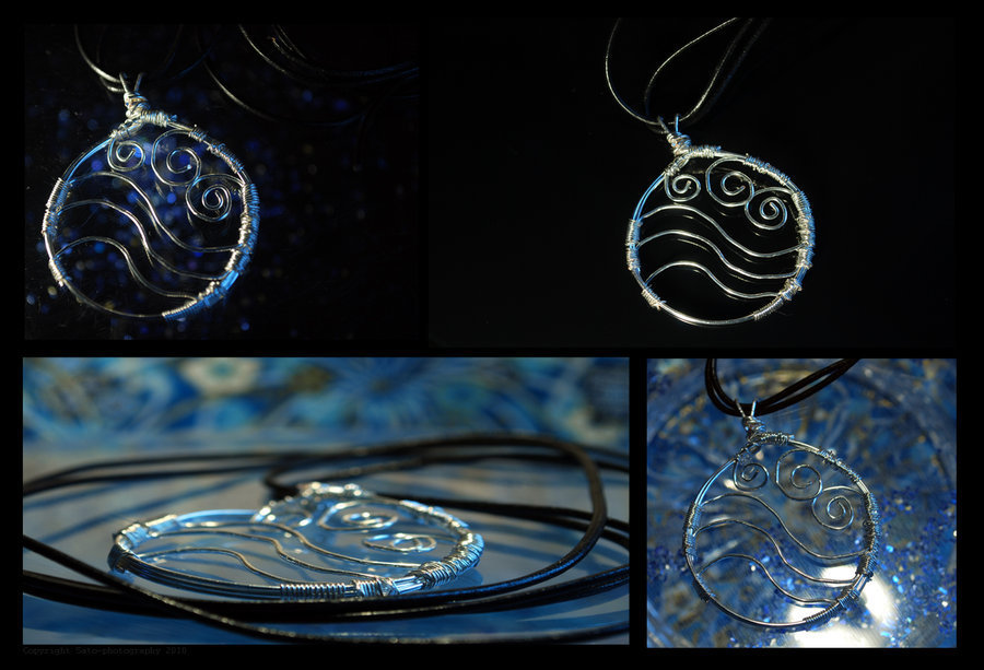 Avatar  The Last Airbender Water tribe necklaceAvatar The Last Airbender Water Symbols