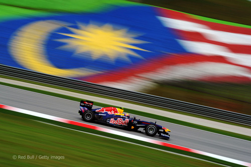 Webber at Sepang