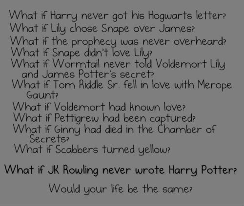 What if ...