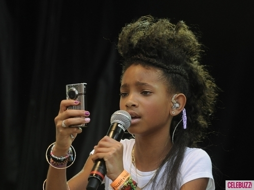 Willow Smith Hintergrund titled Willow Smith performance at the White House