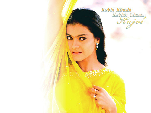 Kajol Devgan Images Beautiful Kajol In Kabhi Khushi Kabhi Gham