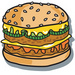 cool cheeseburger - cheeseburgers icon