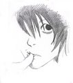death note - anime fan art