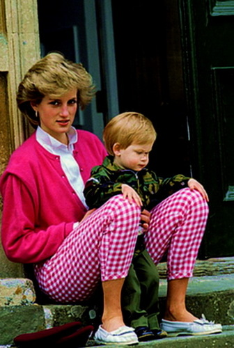 diana and her son