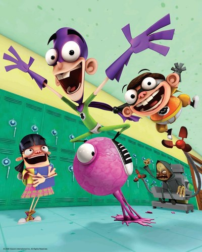 Fanboy ''N'' Chum Chum پیپر وال called fanboy and chum chum