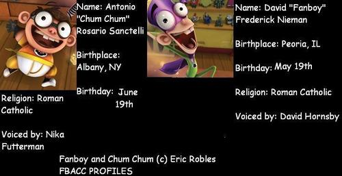 fanboy and chum chum Profil