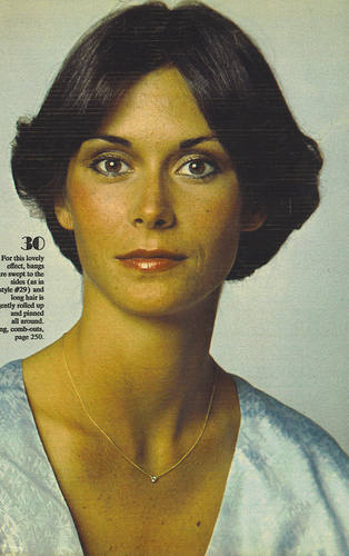 Charlie's Engel 1976 Hintergrund with a portrait entitled kate jackson
