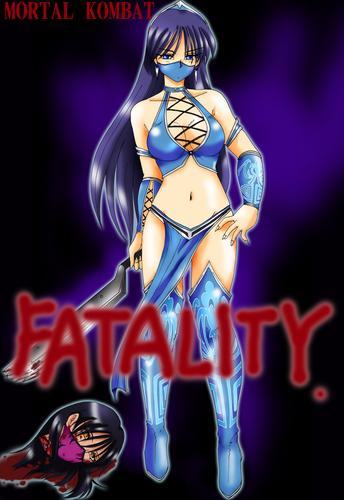 Mortal Kombat wallpaper probably with anime called kitana