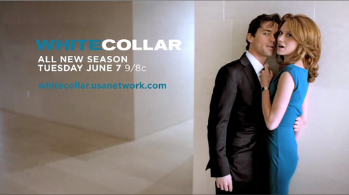 matt bomer and hilarie burton white collar season 3 promo