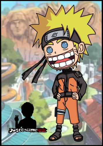 naruto Chibi's! fondo de pantalla containing anime called naruto chibi