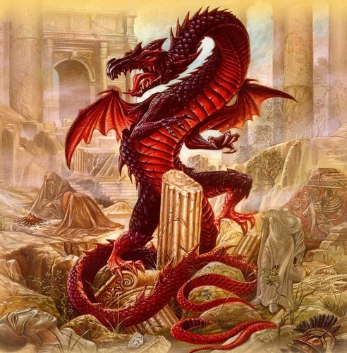 Dragons images Red Dragon HD wallpaper and background ...