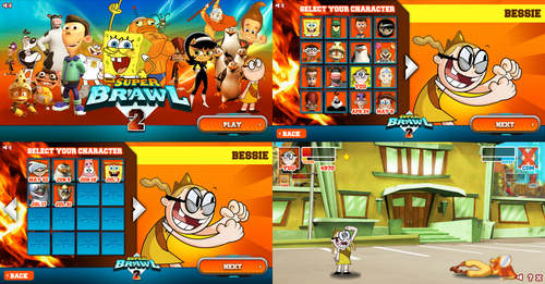 Fanboy and Chum Chum Club wallpaper entitled super brawl 2