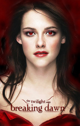 Movies wallpaper containing a portrait called twilight: breaking dawn