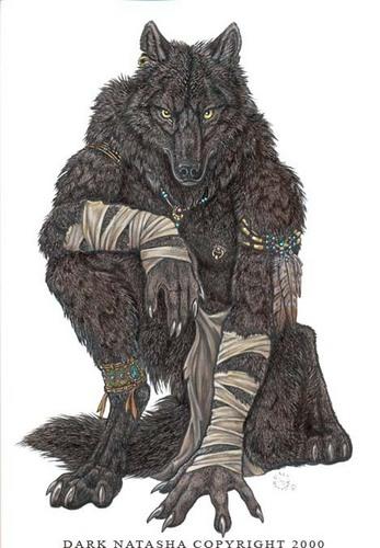 Wolves and Werewolfs wallpaper called werewolf