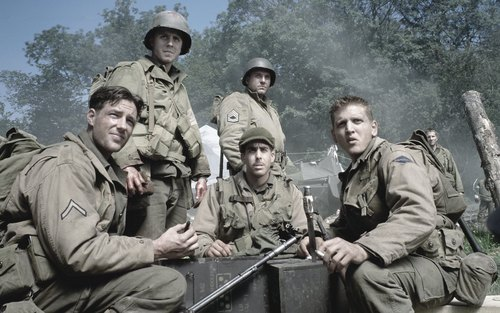 Adam in Saving Private Ryan