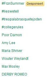 Amy Lee is trending on Twitter!!!