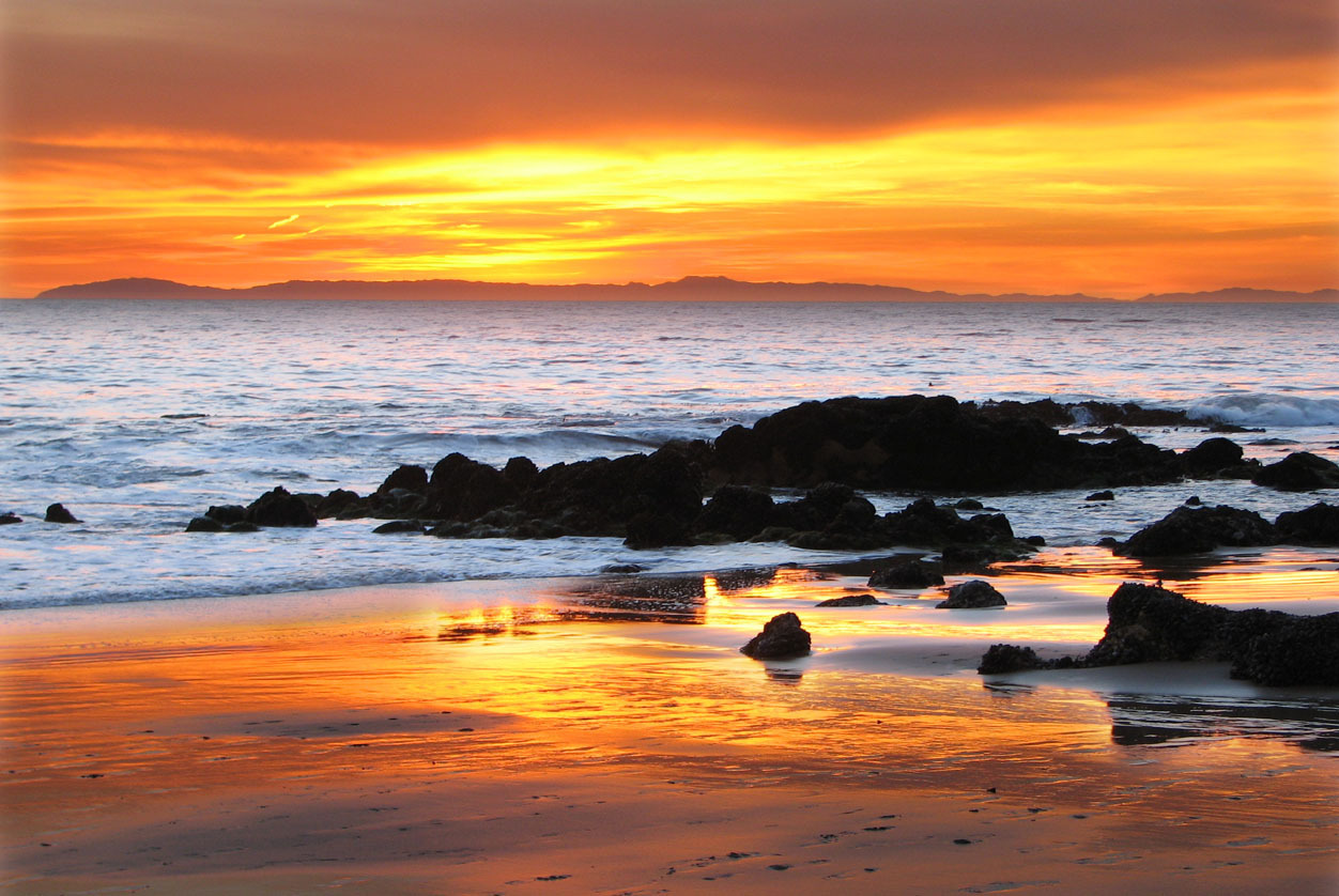Beautiful sunset beautiful nature photo 21887678 fanpop for Pretty beaches in california