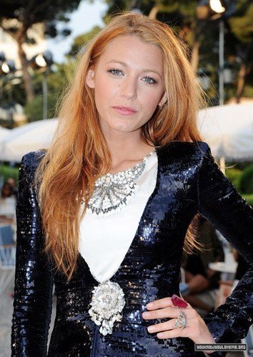 Blake Lively for Chanel.