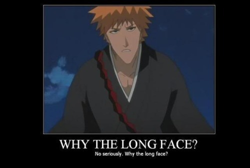 Bleach Motivational Poster