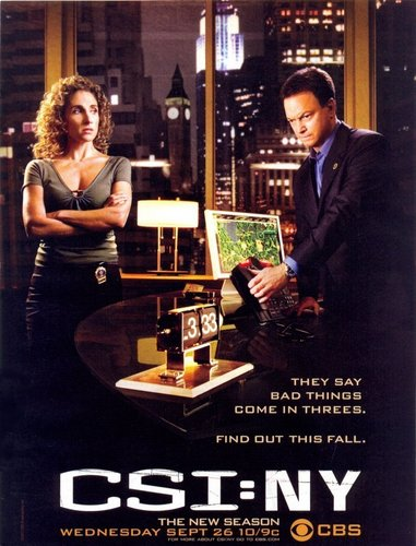 CSI - NY posters