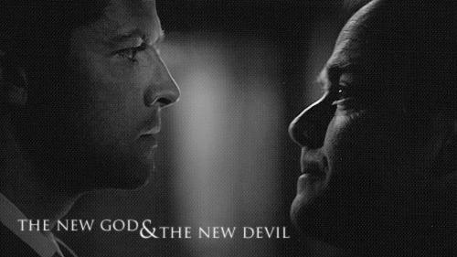 Castiel & Crowley