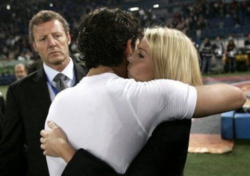 Celebrating the scudetto: exclusive pictures!.Pato&Barbara