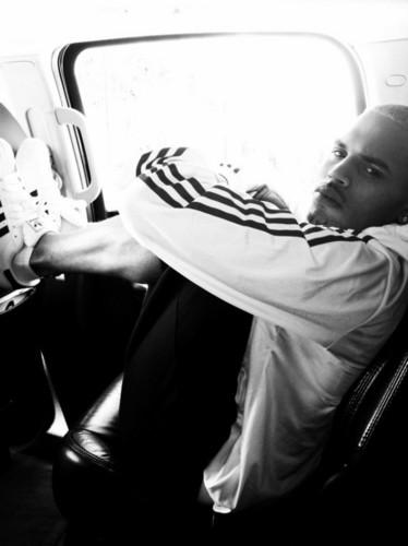 Chris Brown nike gear