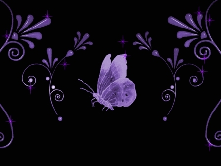 borboletas wallpaper called Purple borboleta
