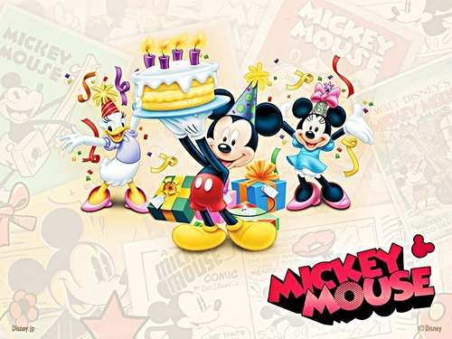 Walt Disney Characters wallpaper called Walt Disney Wallpapers - Happy Birthday!