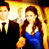 Delena & Forwood 写真 with a business suit and a suit titled Damon & Elena <3